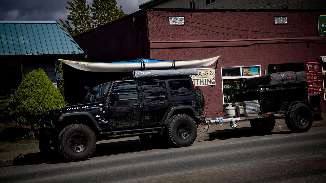 Lake Cowichan - Vancouver Island -Camping 2017