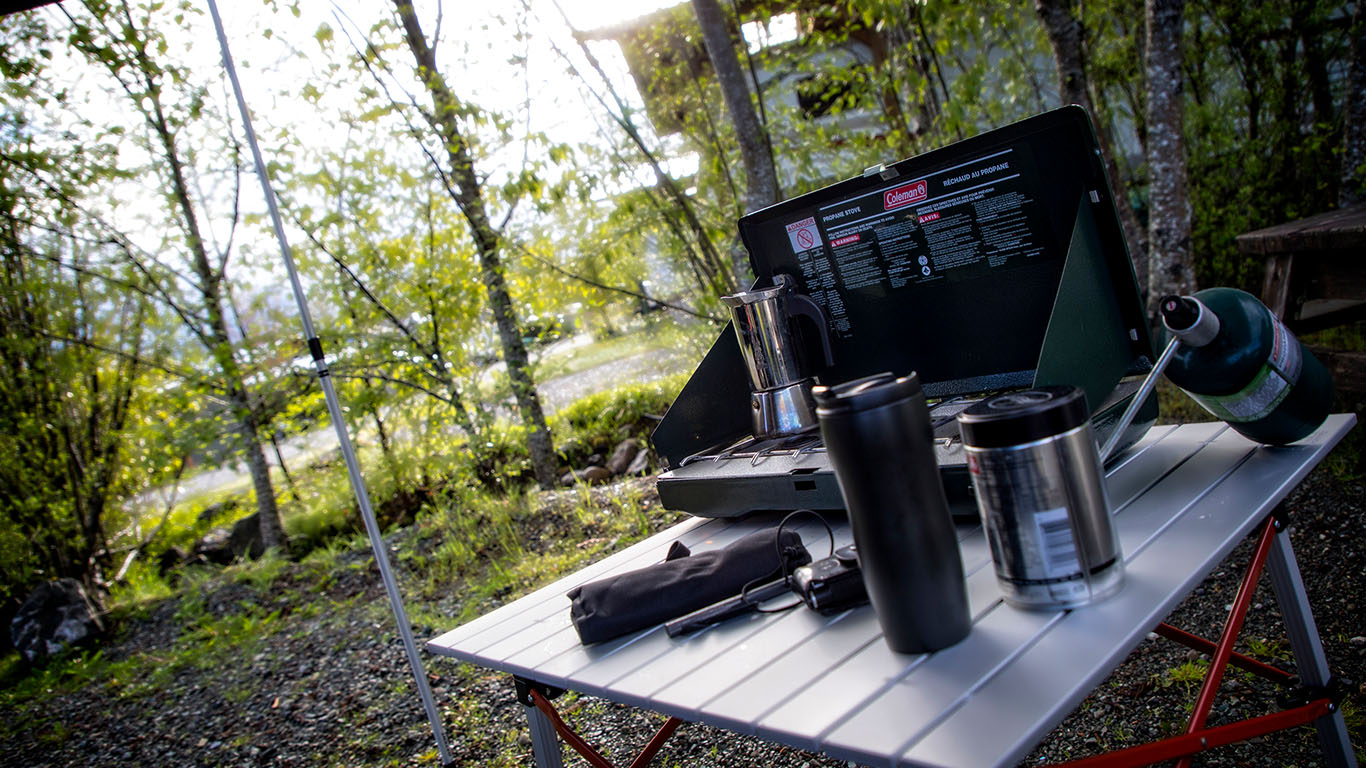 Coffee's On - Vancouver Island -Camping 2017